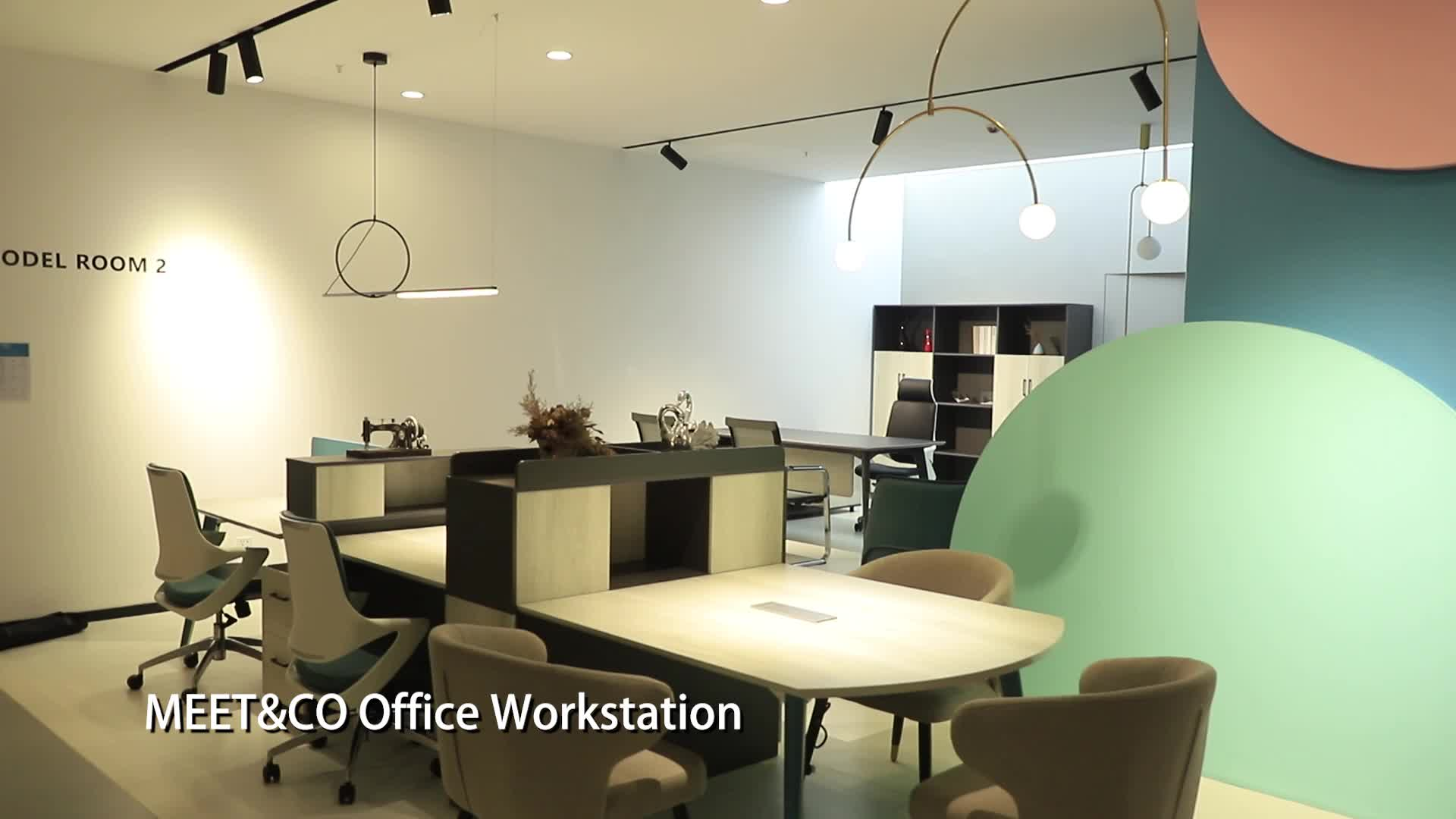 Office Furniture office workstation 2, 4, 6 person workstation office furniture manufacturer office desk
