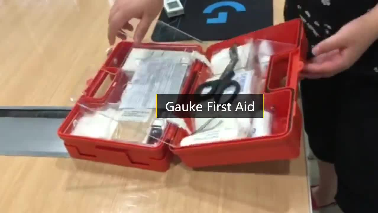 Economical and practical GKB301 plastic box first aid kit box