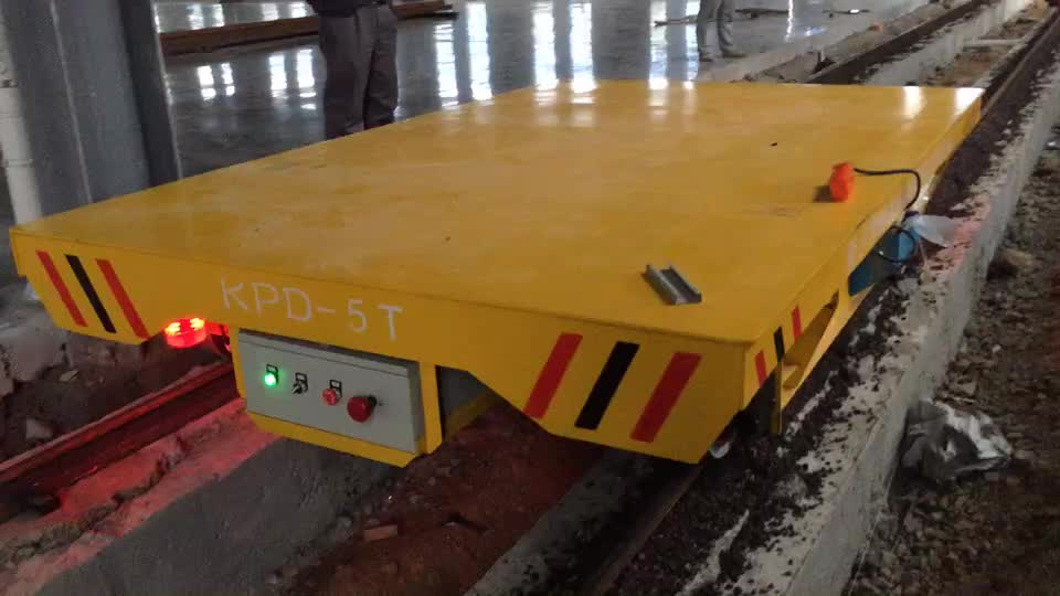轨道电动平车价格  过跨车厂家KPDZ系列5吨规格齐全 新乡轨道平车