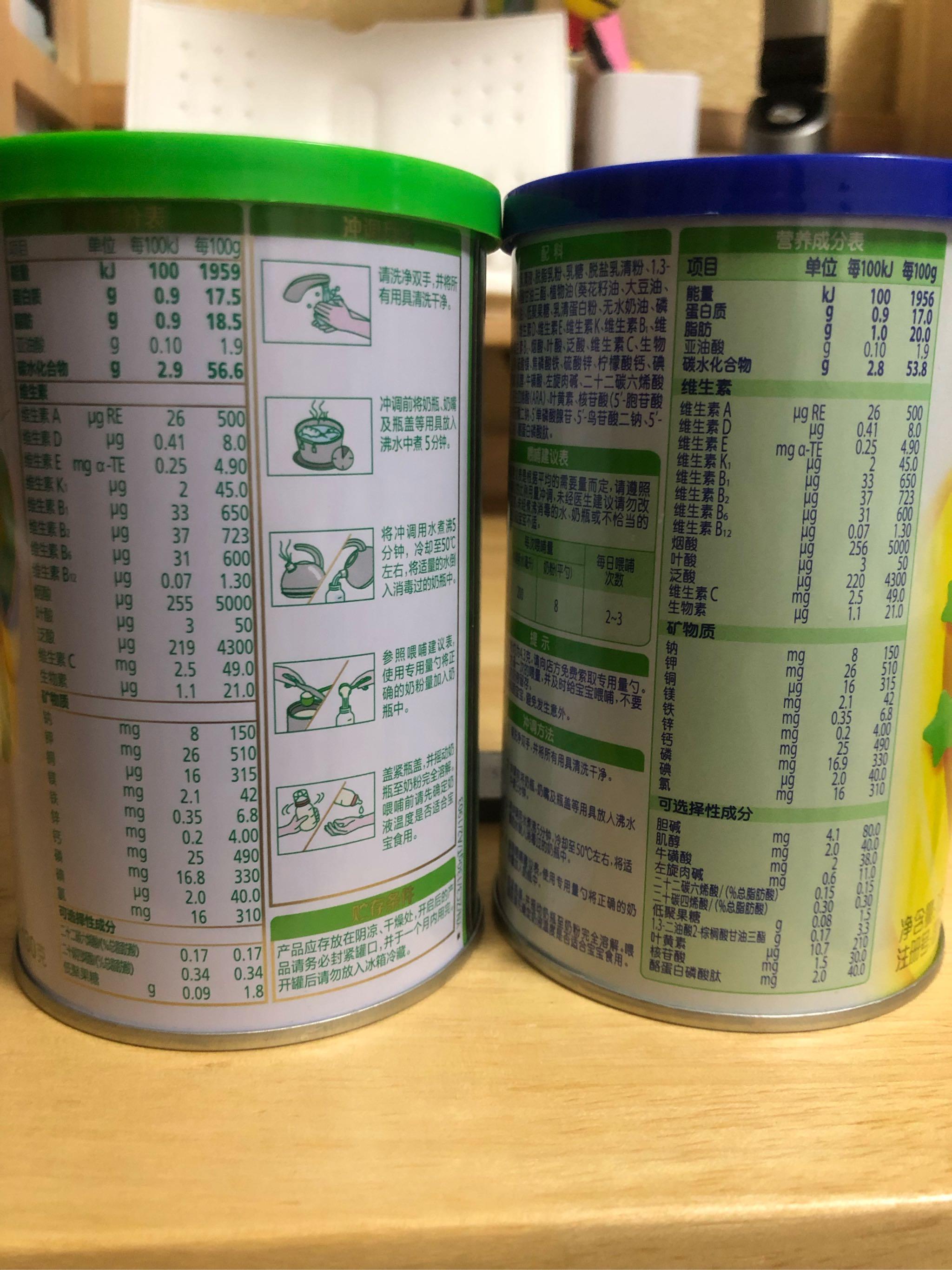 飞鹤星飞帆幼儿配方牛奶粉