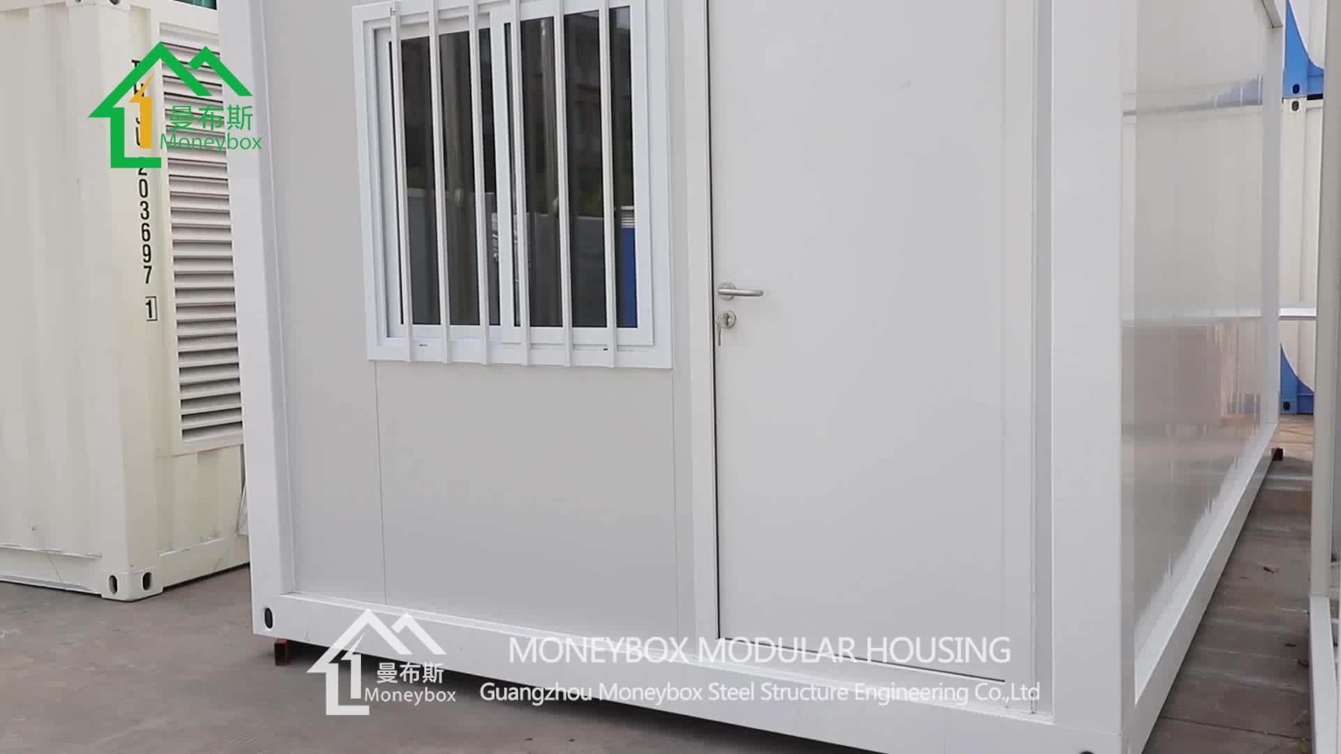 Snelle Montage Flat Pack Zonne-energie Prefab Huis