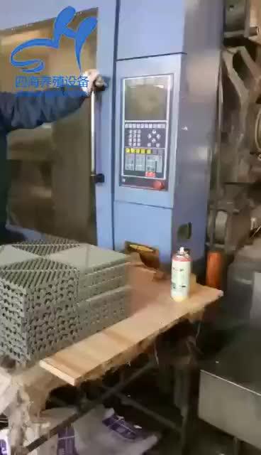 400*400*18 Mm Outdoor Interlocking Plastik Ubin Lantai dengan Tepi dan Sudut untuk Dijual