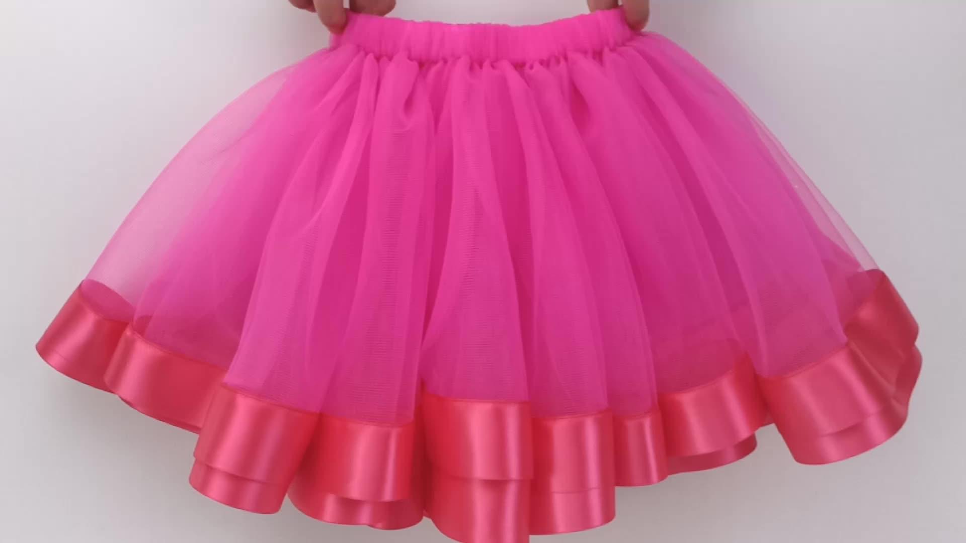 卸売子供のチュチュドレスのための新生児ペチコートチュチュ服幼児チュチュ寸劇