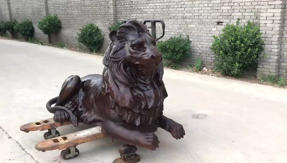 Popular custom Design products metal brass tiger statue
