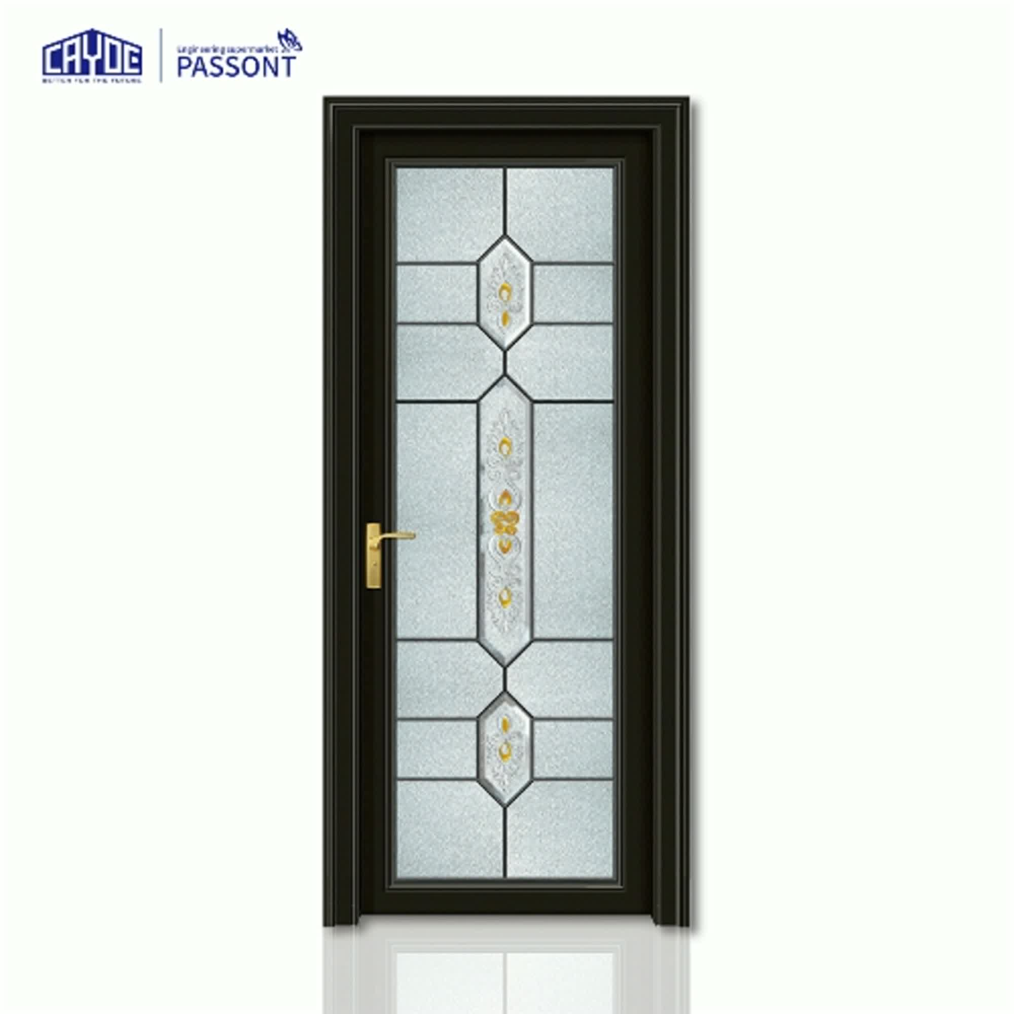 Professional High-end Decorative Door Glass Customized