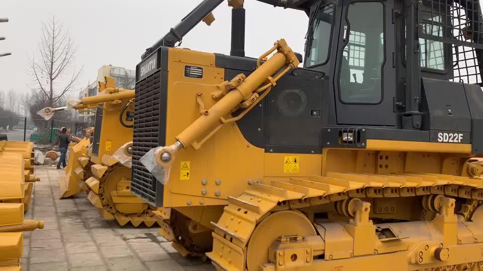 La construcción de carreteras maquinaria 220hp Bulldozer ZD220-3 para venta