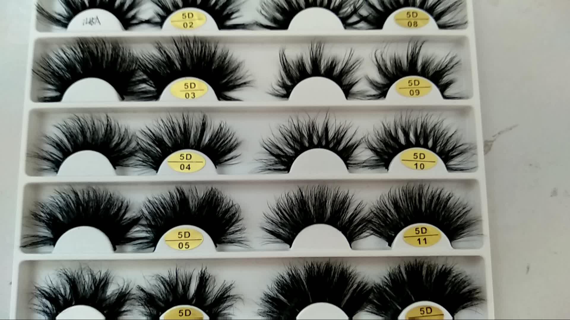 Private label Hot sale high quality real mink fur eyelash 3d mink lashes false eyelash
