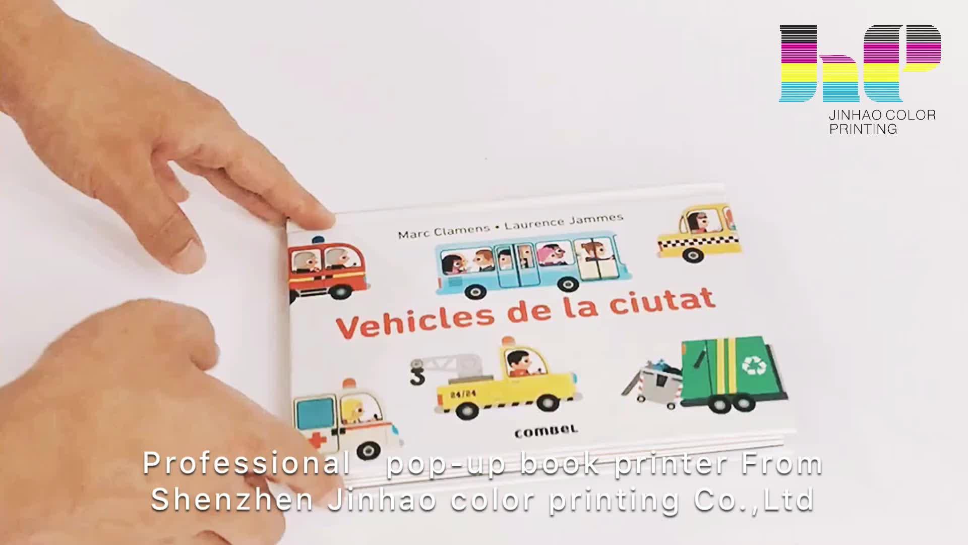 Китай детская книга печать 3D Pop Up книга с конкурентоспособной ценой для продажи