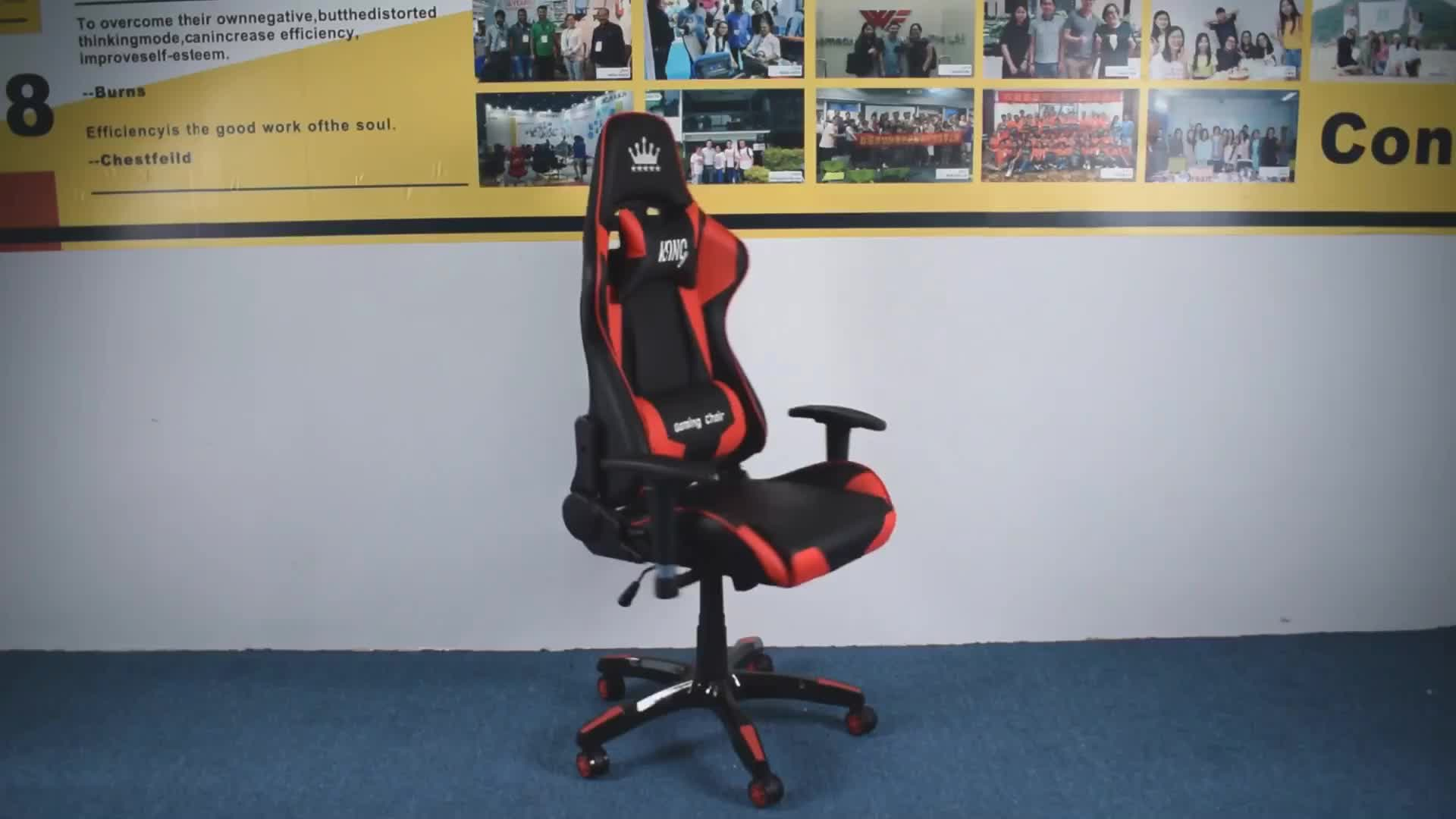 TANNIC Modern Ultimate Video Game Chair PC racing style computer gamer chair