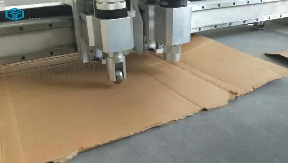 Заводская распродажа, интеллектуальная машина для резки картонных коробок для гофрированного картона