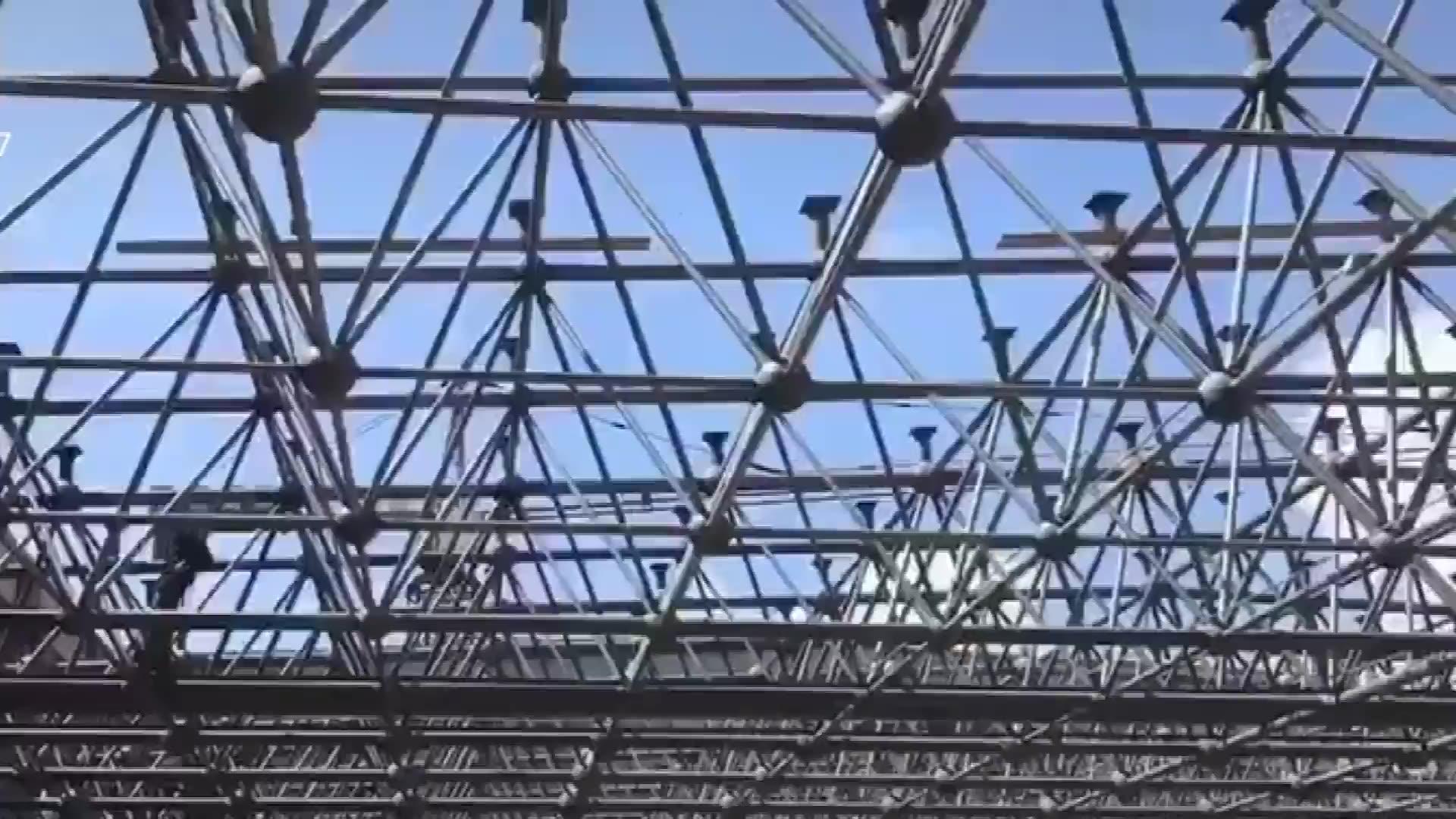 Safs現代プレハブ軟鋼構造建物プレハブ倉庫ワークショップ航空機格納庫