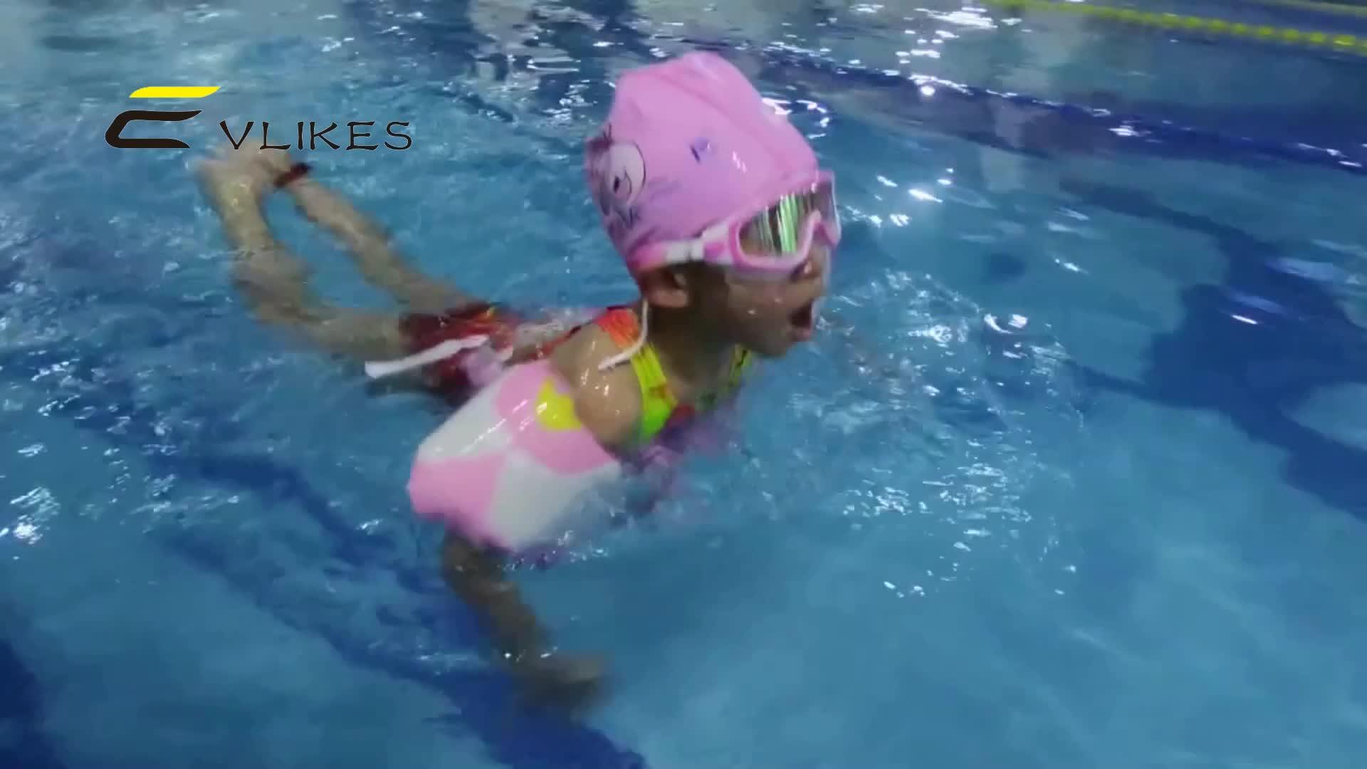 Evlikes ウォータースポーツ眼鏡 Uv プロテクション PC レンズ材料とシリコーンフレーム材質水泳ゴーグル