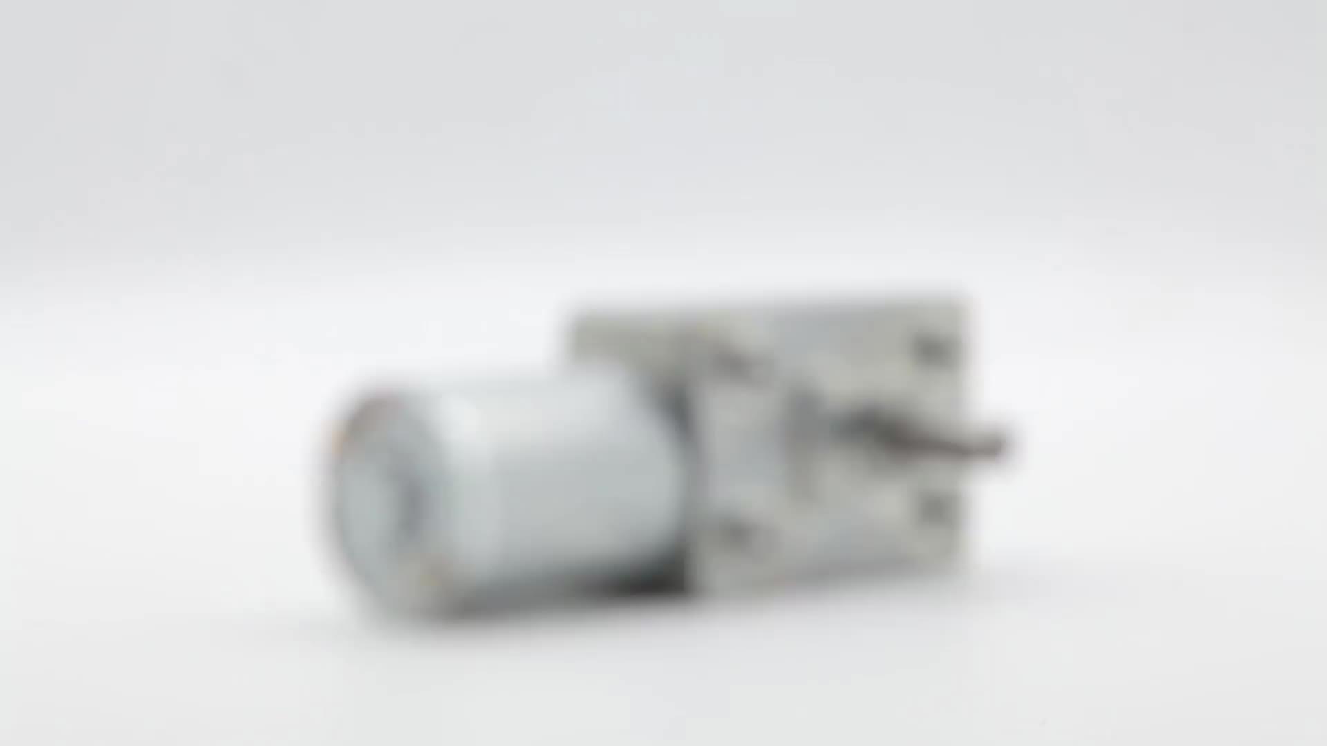 BringSmart JGY-370 12 فولت محرك بتيار مستمر 6 فولت مايكرو دودة موتور تروس عكس عزم دوران عالية المخفض الذاتي قفل 12 فولت محرك 24 فولت محرك كهربائي