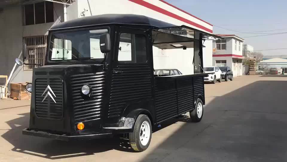 Best quality low price mobile grocery store electric food car for sale