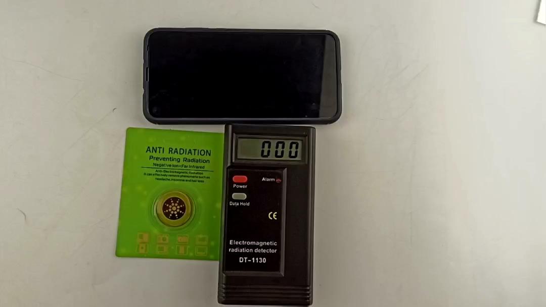 OEM ODMQuantum щит скалярная энергия наклейка мобильный телефон радиация против EMF/EMR анти радиационная наклейка с блистерной коробкой