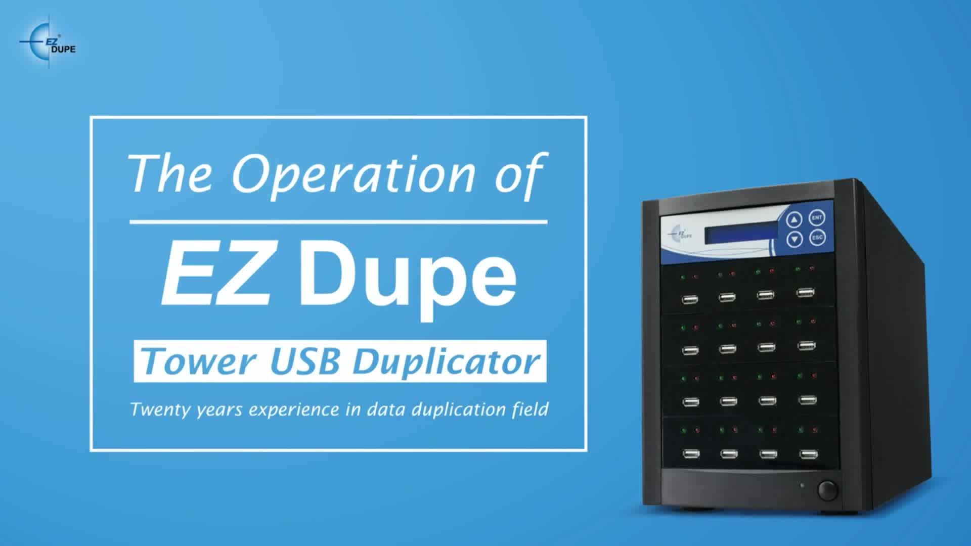 EZ Dupe Xtreme 1 to 63 targets Industrial USB 3.0 Duplicator / Copier