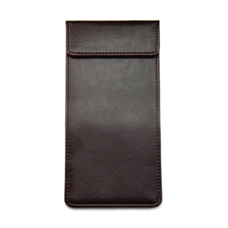 Synthetic Leather Custom A5 A6 Size Clipboard Writing Pad Restaurant Menu Folder Checkbook Cover Holder