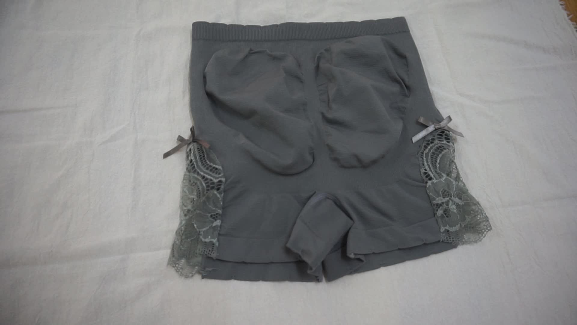 Venta al por mayor ropa interior sin costuras de seguridad sexy, bragas de las niñas y las mujeres boxer briefs
