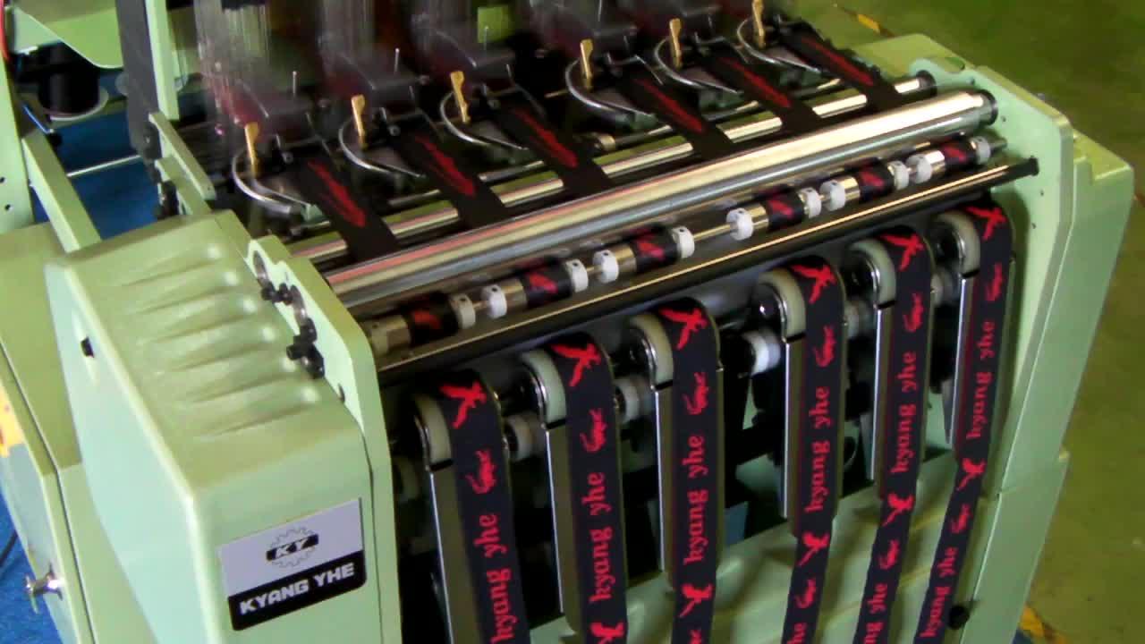 KY de alta velocidad computadora electrónica jacquard telar de agujas precio