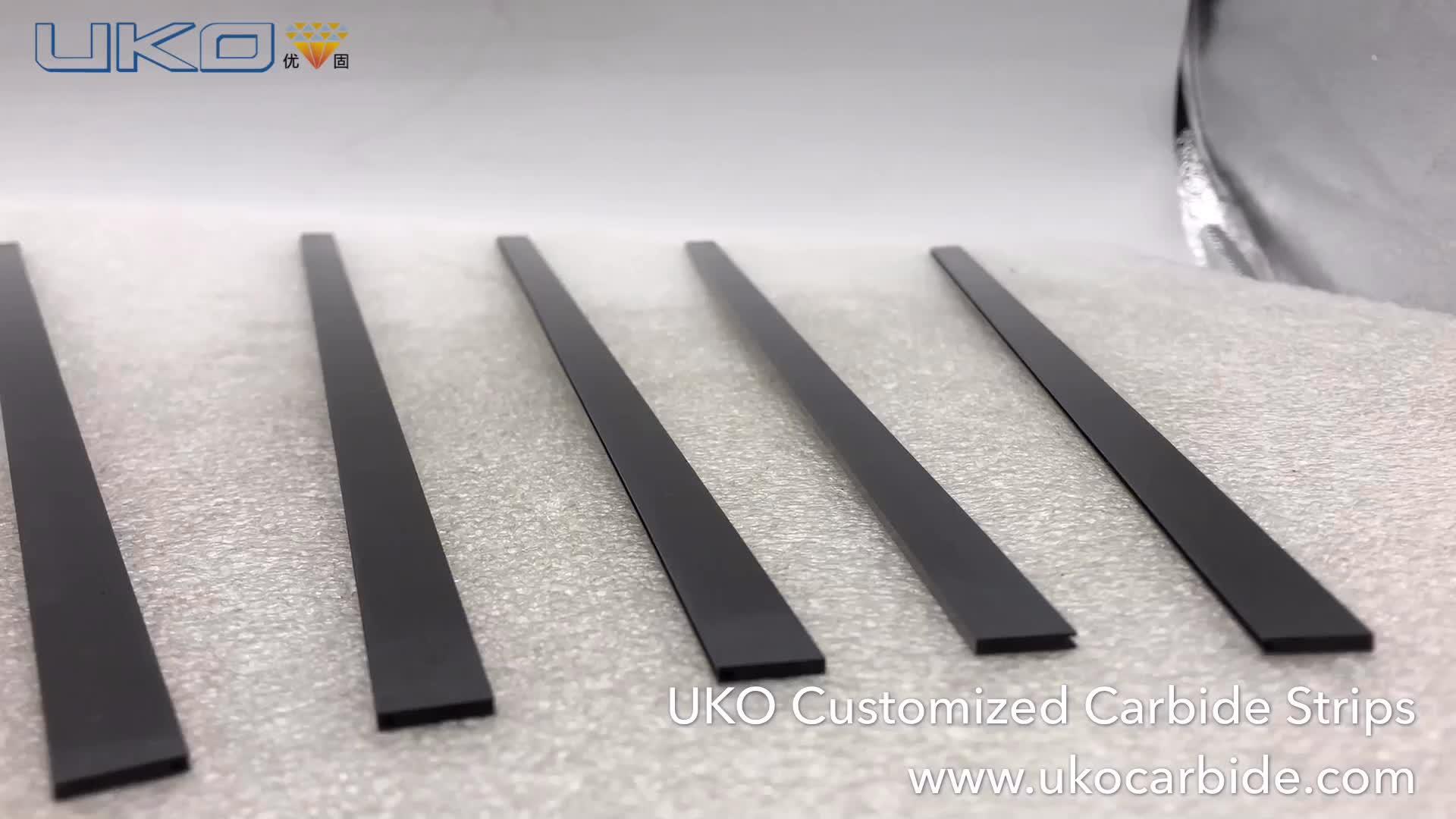 "5//32 x 7//8/"" x 6/"" Solid Carbide Strip Rectangular Blank"