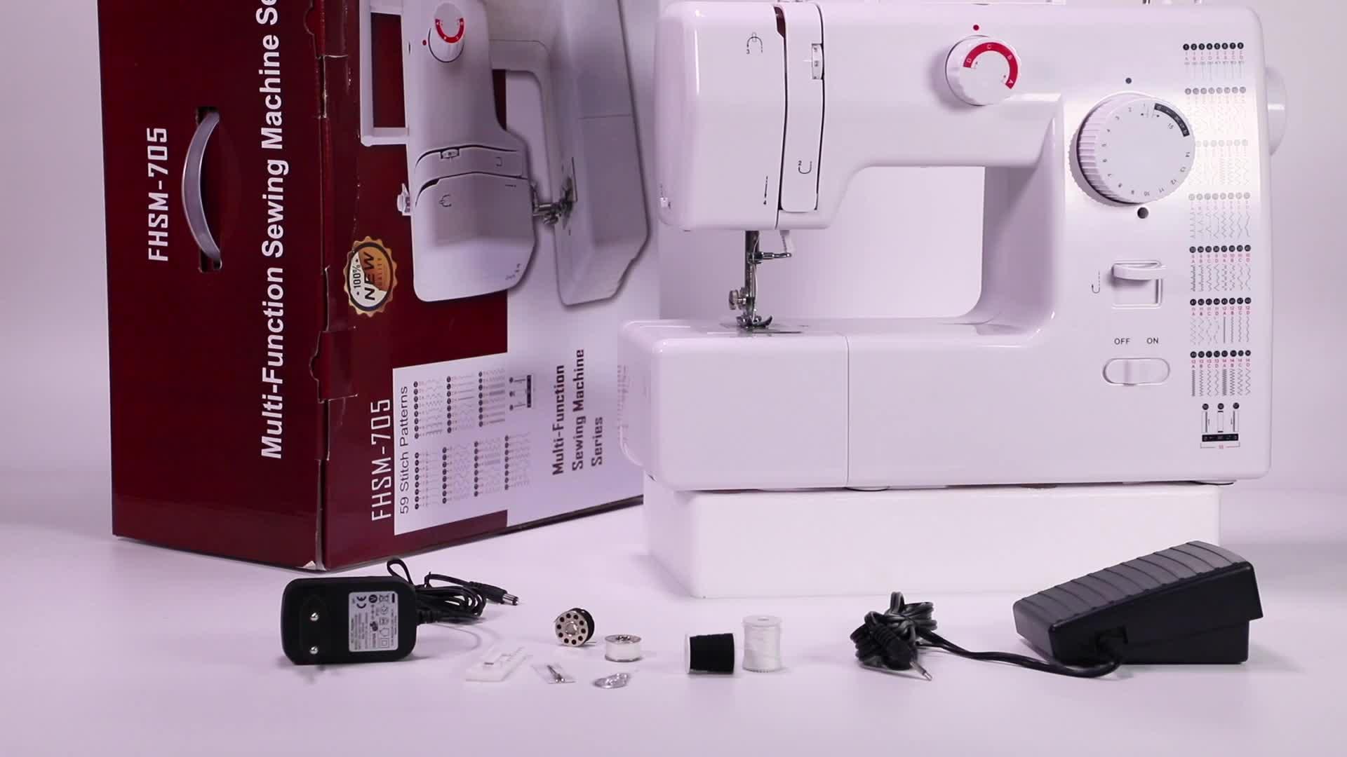 VOF FHSM-705 del computer su misura professionale casa macchina da cucire