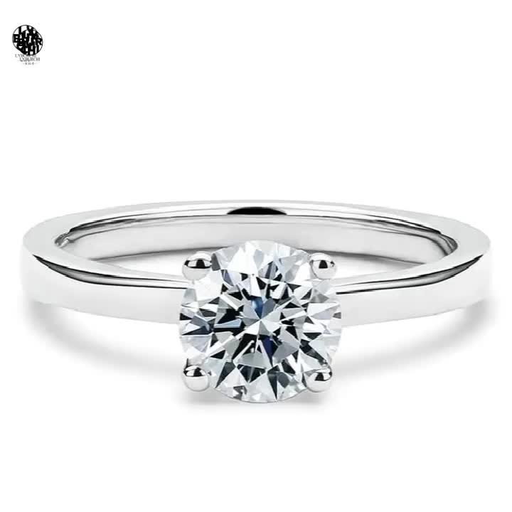 GIA certification engagement ring diamond