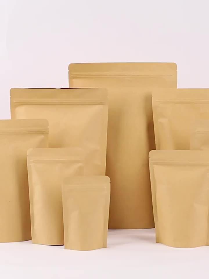 Eco amigável de impressão personalizada sacos de pão papel de embalagem de alimentos com janela para a embalagem de chocolate