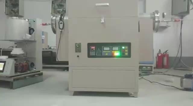 Laboratuvar Isıtma ekipmanları vakum seramik tüp fırın oluklu fırın tüpü