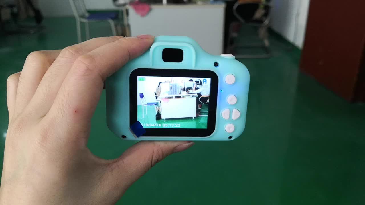 """Çocuklar için en iyi hediye """"s günü çocuklar dijital kamera FHD1080P DVR kaydedici oyuncaklar çocuklar için"""