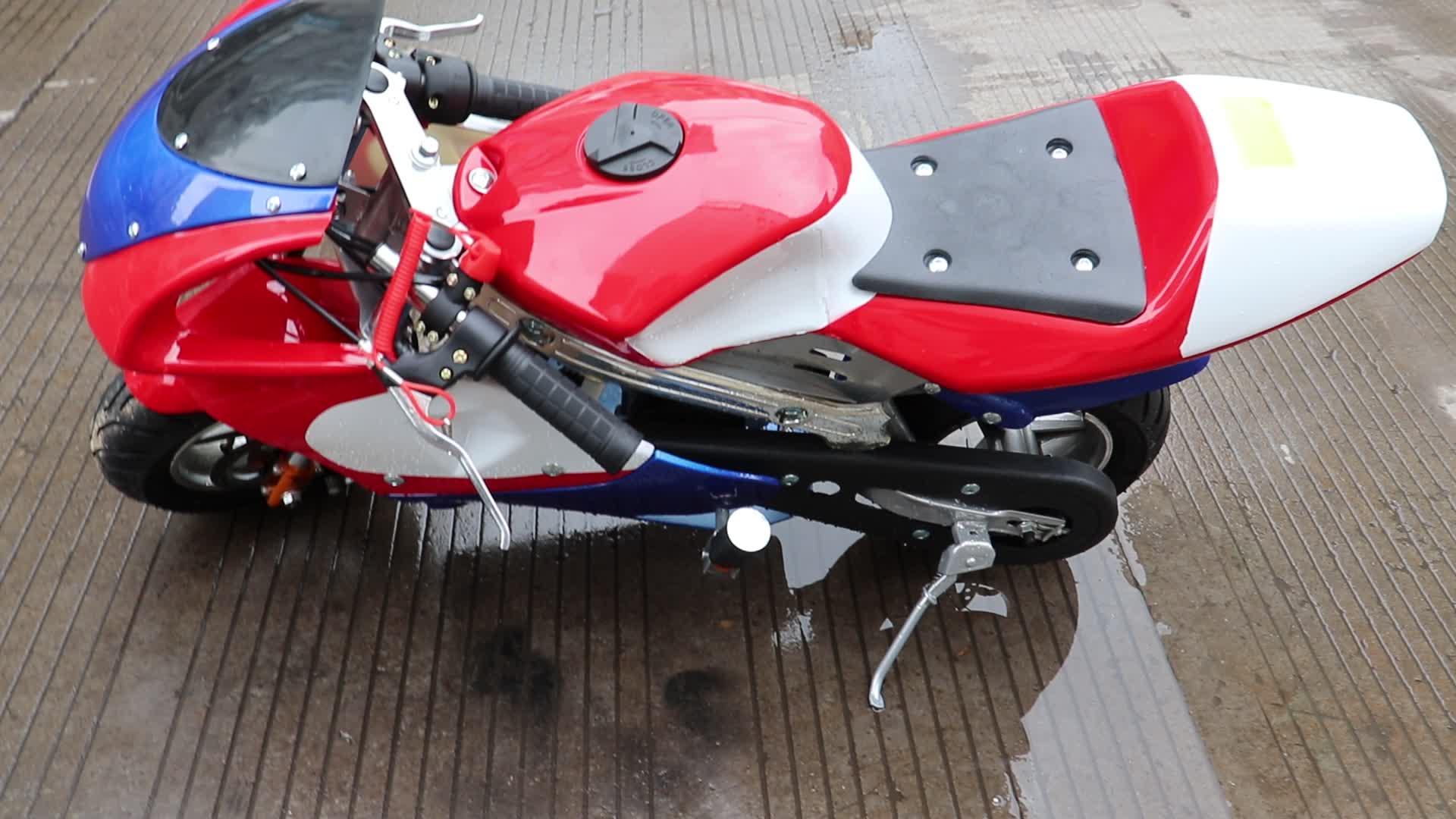 Andere Motorfietsen fabriek verkopen Hoge kwaliteit en beste prijs mini moto pocket bike 49cc 50cc 2 takt airl koeling voor kids