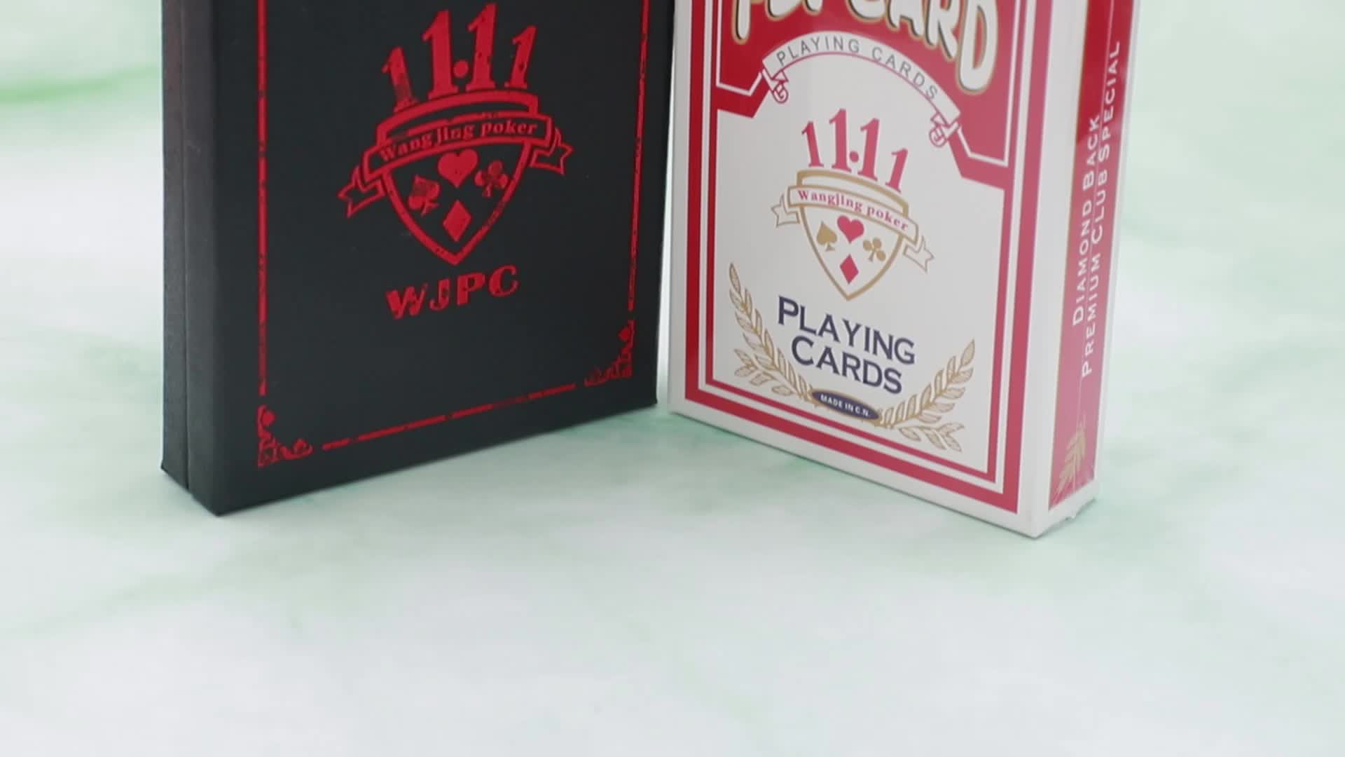 WJPC-Magic Trick Playing Cards Printing With Pro Service WJ-M235