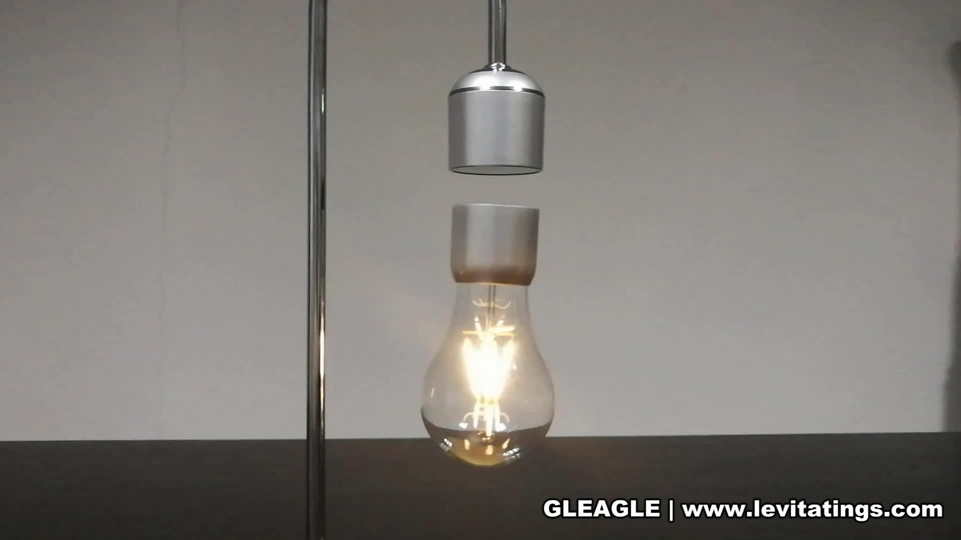 Levitating Lamba mucit Resmi Tek Üretici Patentli manyetik levitasyon lambası Levitating ışık