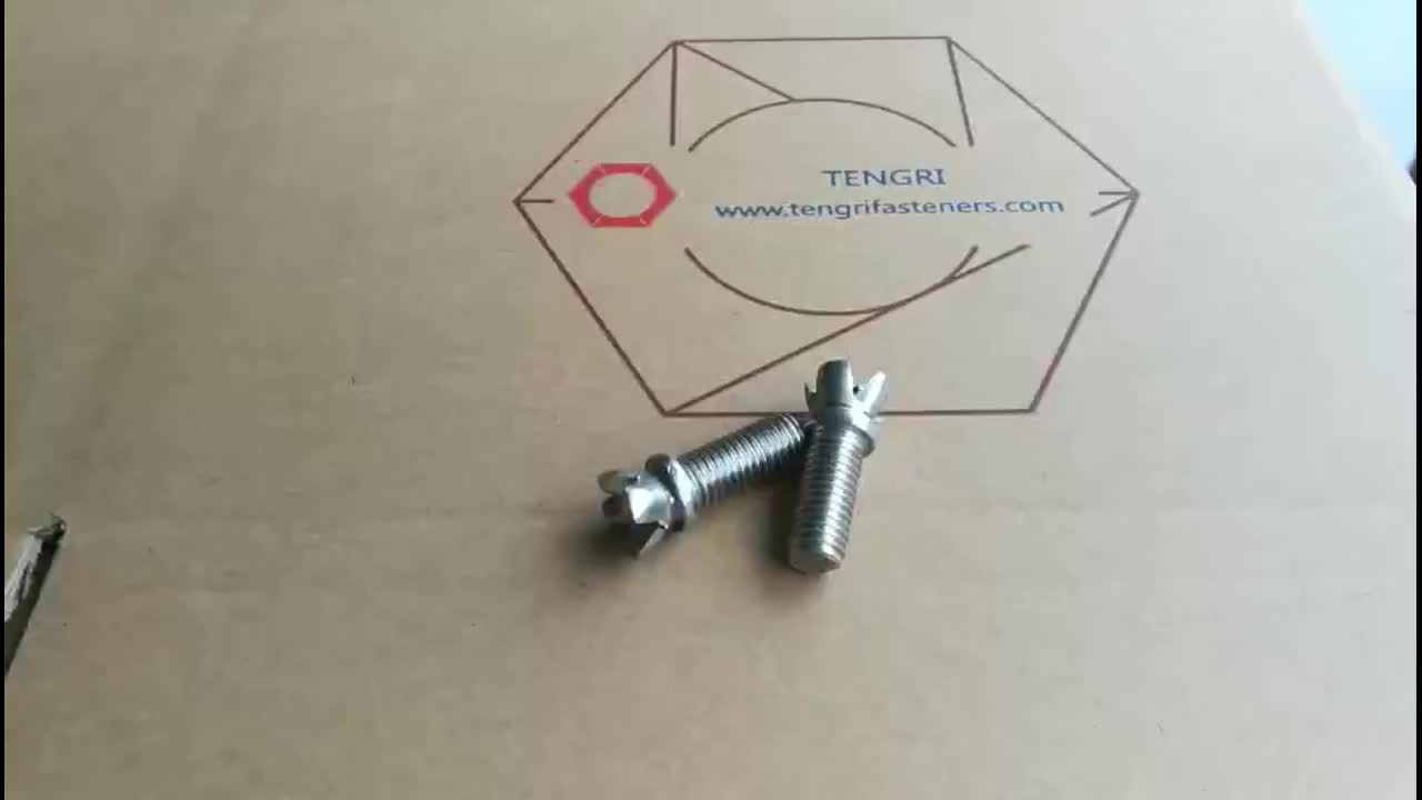 Non-standard custom Tulip Screw/Blossom screws