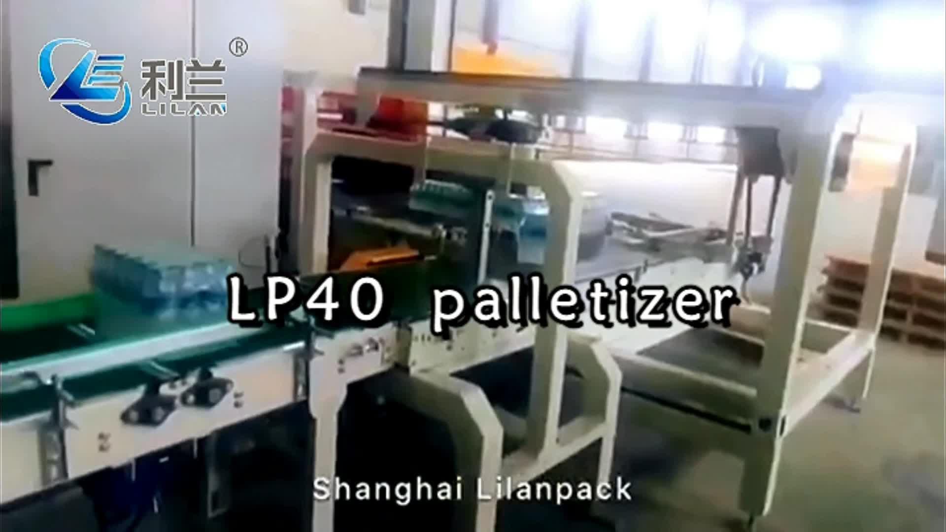 Shanghai produzione di macchinari ad alta velocità palletizer per bevande caso scatola di cartone