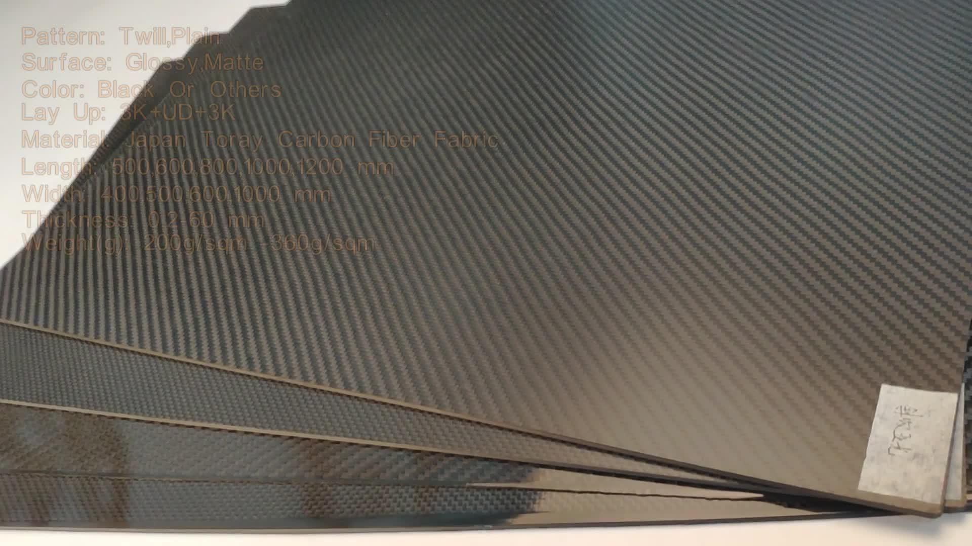 Koolstofvezel versterkte kunststof vel laminaat prijs buy