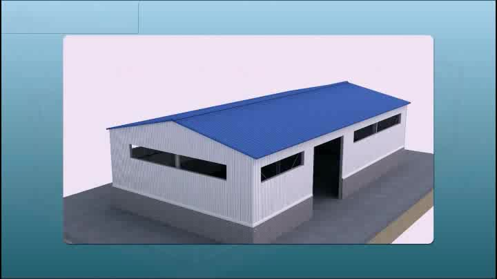 Portal Frame Steel Structure Function Conference Hall Building Design Malaysia