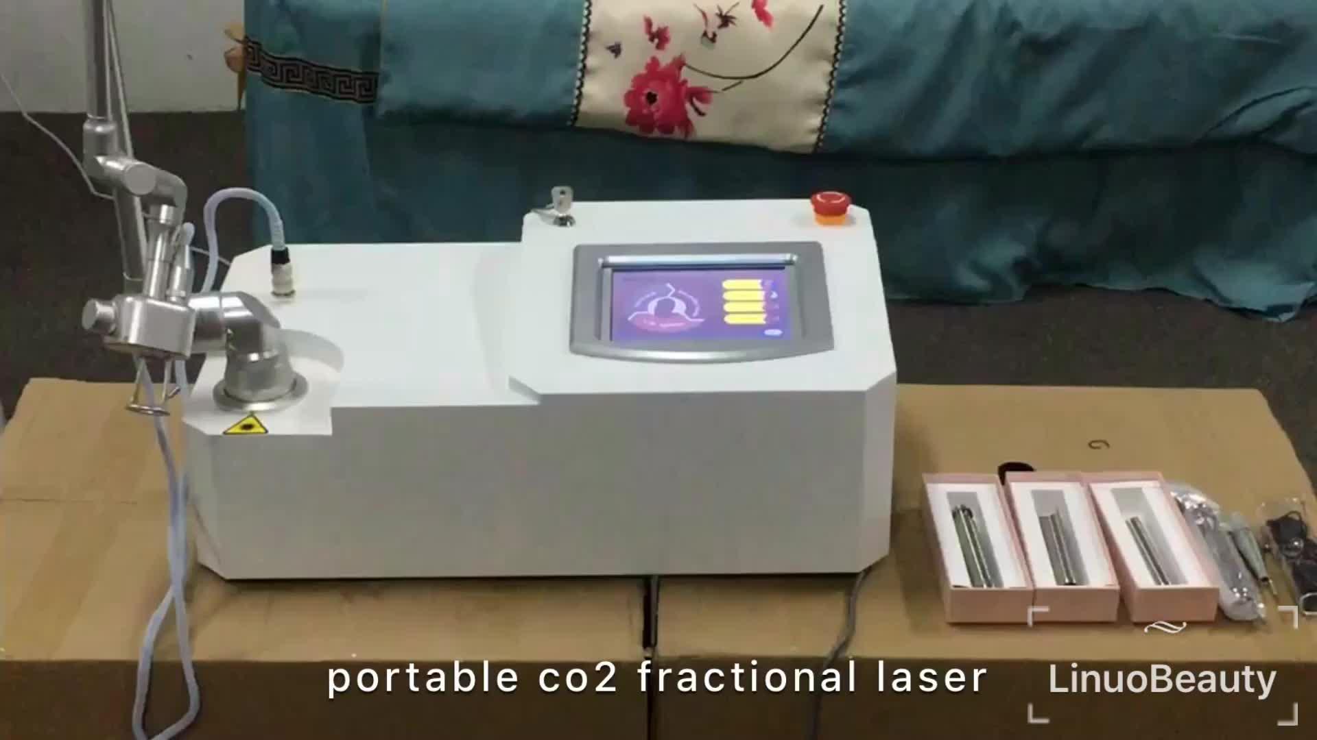 40w co2 vaginal láser cicatriz eliminación de co2 láser de eliminación de acné de la máquina co2 láser de eliminación de arrugas máquina de tubo RF