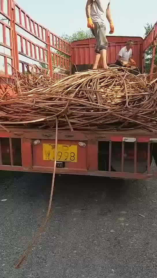 99.95% Cu (Min) et Fil De Cuivre De déchets de cuivre en vrac de l'usine de la chine