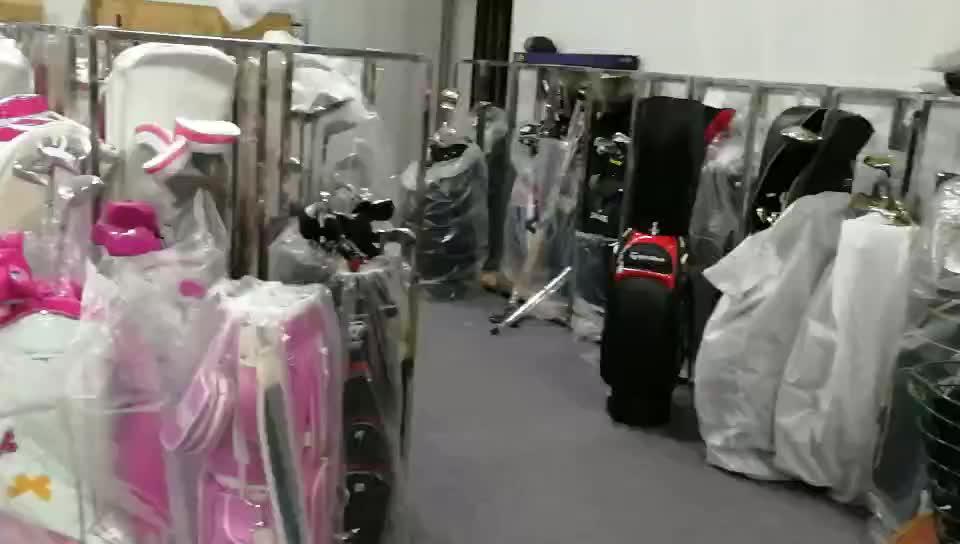 थोक गर्म बिक्री पुरुषों गोल्फ क्लब सेट टाइटेनियम के लिए पूरा गोल्फ क्लब सेट फैशनेबल ब्रांड के साथ गोल्फ बैग