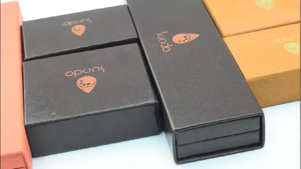 Lüks özel baskılı siyah kağıt parfüm kutusu basit oluklu kağit kutu kozmetik takı hediye paketleme