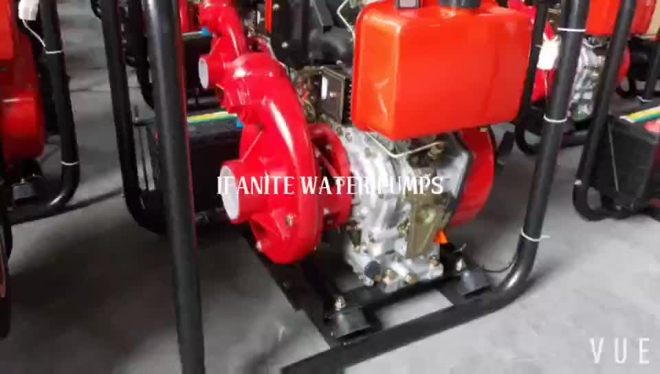 China manufacturer 4 inch 10hp air cooler diesel water pump