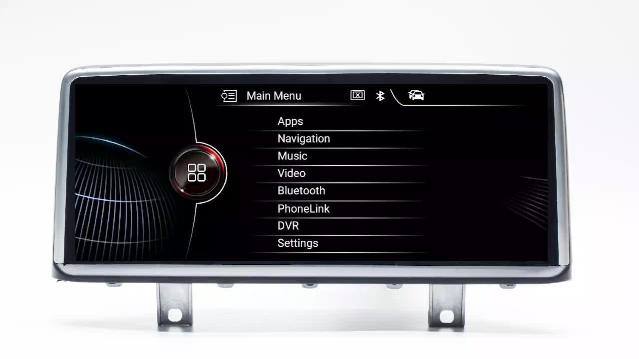 Android7.1car dvd radio stereo GPS sistema multimediale per auto Per BMW Serie 3 E90/5 Serie E60 8.8 pollici full schermo di Tocco capacitivo