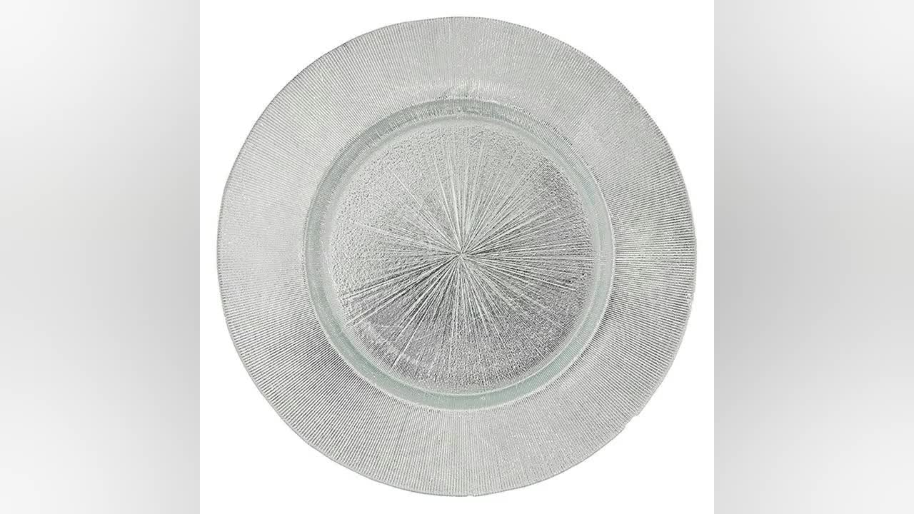 New Design 13 Inch Round Charger Plates Wedding Decorative Wholesale