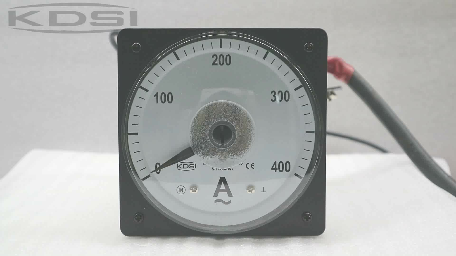 Factory direct sales  LS-110 AC400/5A panel analog ac ampere indicator