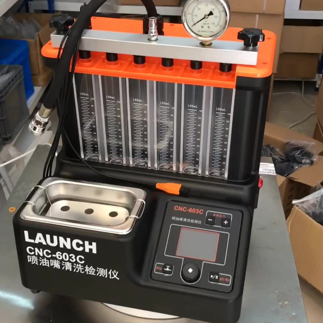 110V Fuel Injector Tester Cleaning Machine Test Bench Equipment
