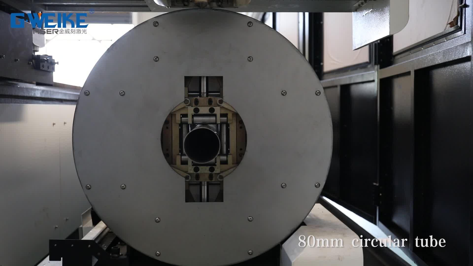 Hot sale fiber laser servo morter cutting machine 15-220mm for tube metal 6m