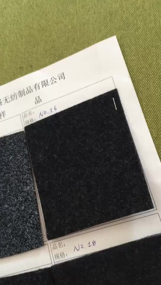 Carpeting polyest felt floor carpet car flooring nonwoven carpet car upholstery fabrics velour