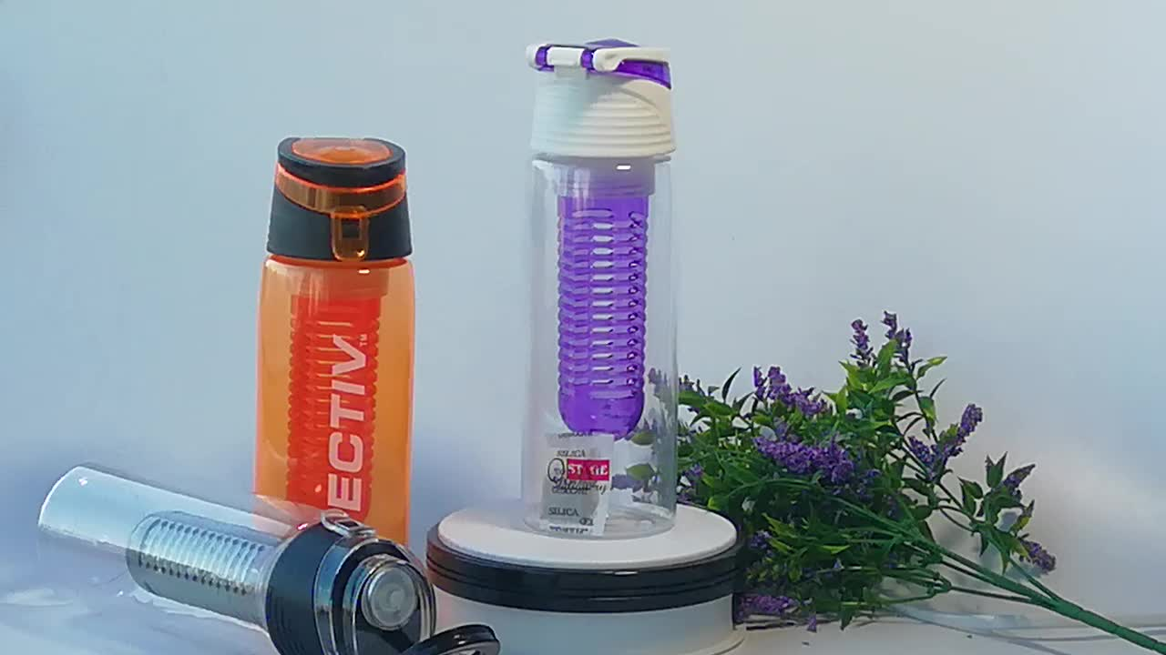 Customised Water Bottle Plastic Cup With Straw Water Bottles With Custom Logo