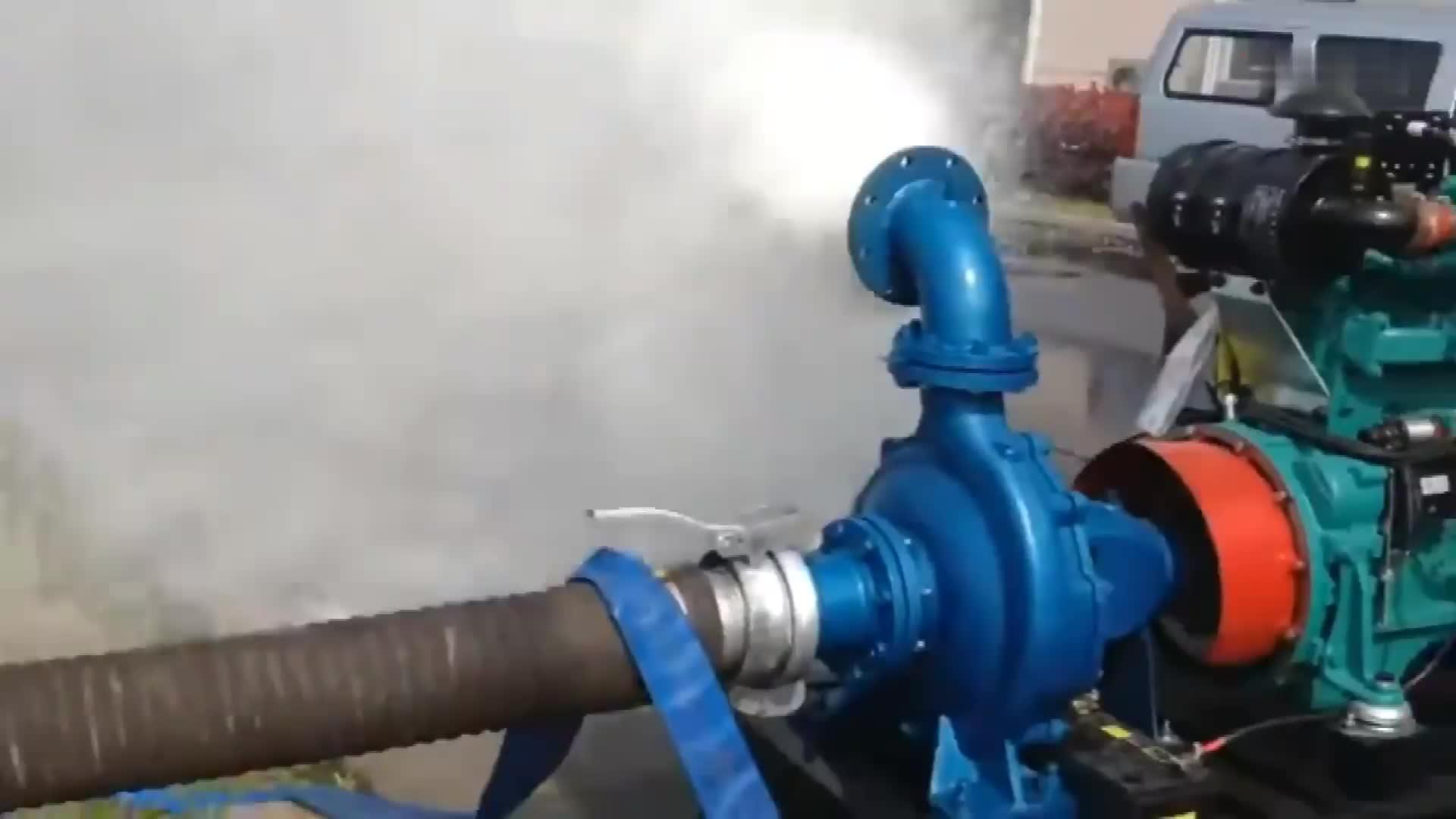 2 inch to 20 inch diesel engine driven sewage pump