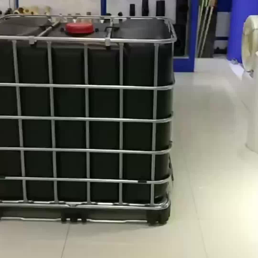 प्लास्टिक ibc ढोना 1000 लीटर पानी की टंकी में बिक्री के लिए पिंजरे
